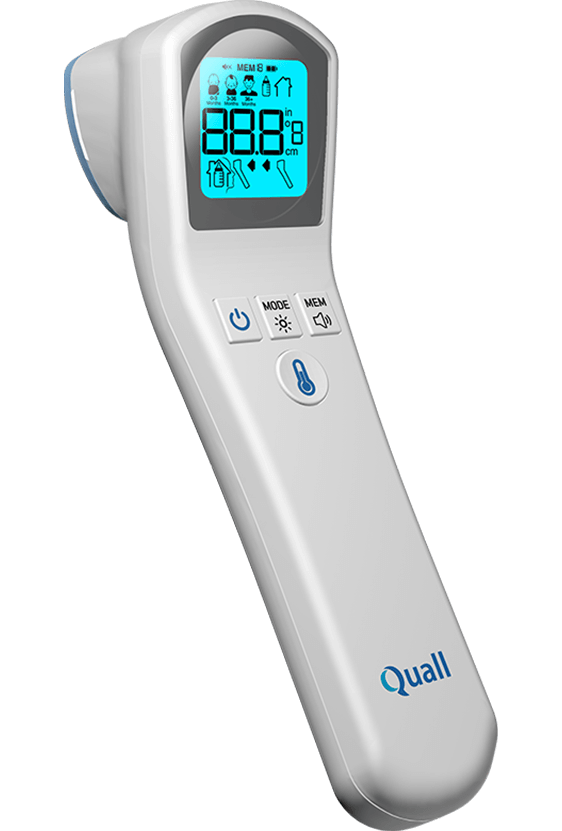 QuallThermo None Contact & Contact Thermometer
